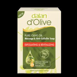 Mydło w kostce złuszczające dalan d'olive z oliwy z oliwek