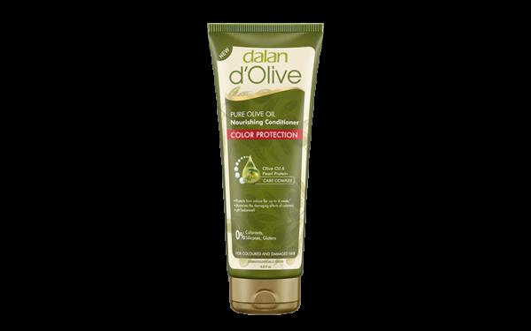 Odżywka do włosów chroniąca kolor dalan d'olive z oliwy z oliwek