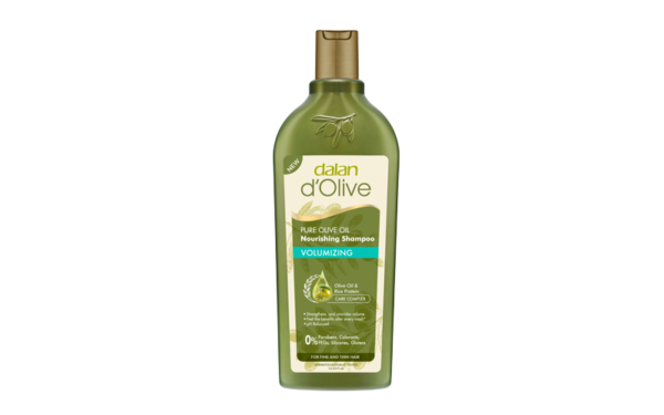 Zwiększający objętość szampon dalan d'olive z oliwy z oliwek