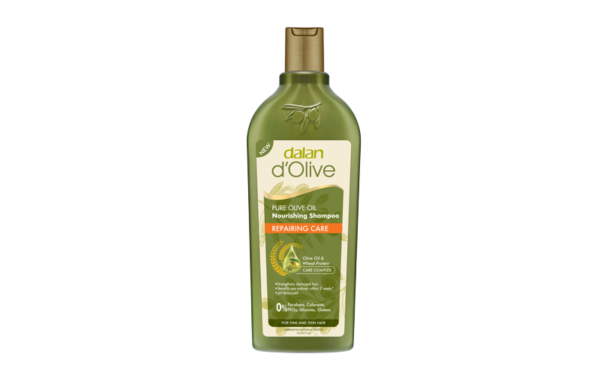 Regenerujący szampon do włosów dalan d'olive z oliwy z oliwek
